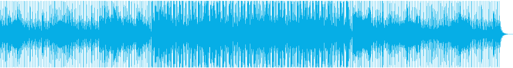 力強く、東洋的なEDMサウンドの再生済みの波形