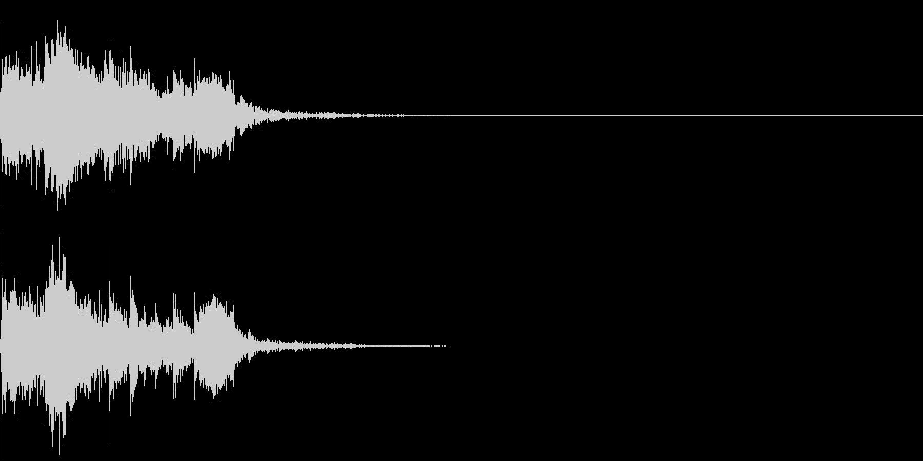 衝撃 金属音 恐怖 震撼 ホラー 12の未再生の波形