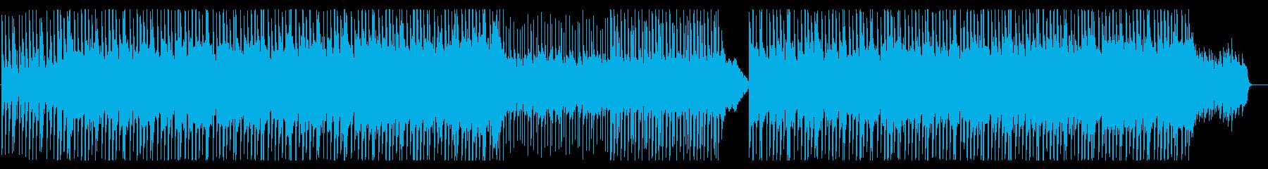 クールなハウス3の再生済みの波形