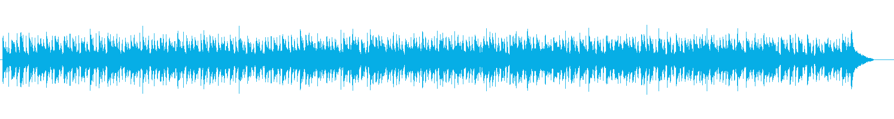 わくわく3拍子ジャズの再生済みの波形