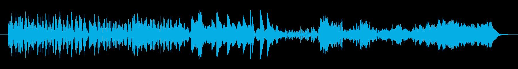 静的遷移の再生済みの波形