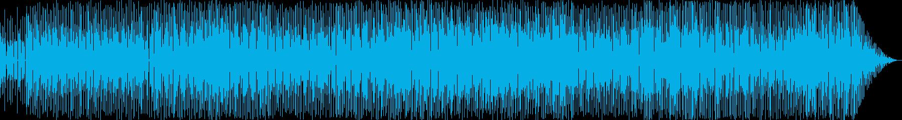 アコースティックギターのシャープな面を…の再生済みの波形