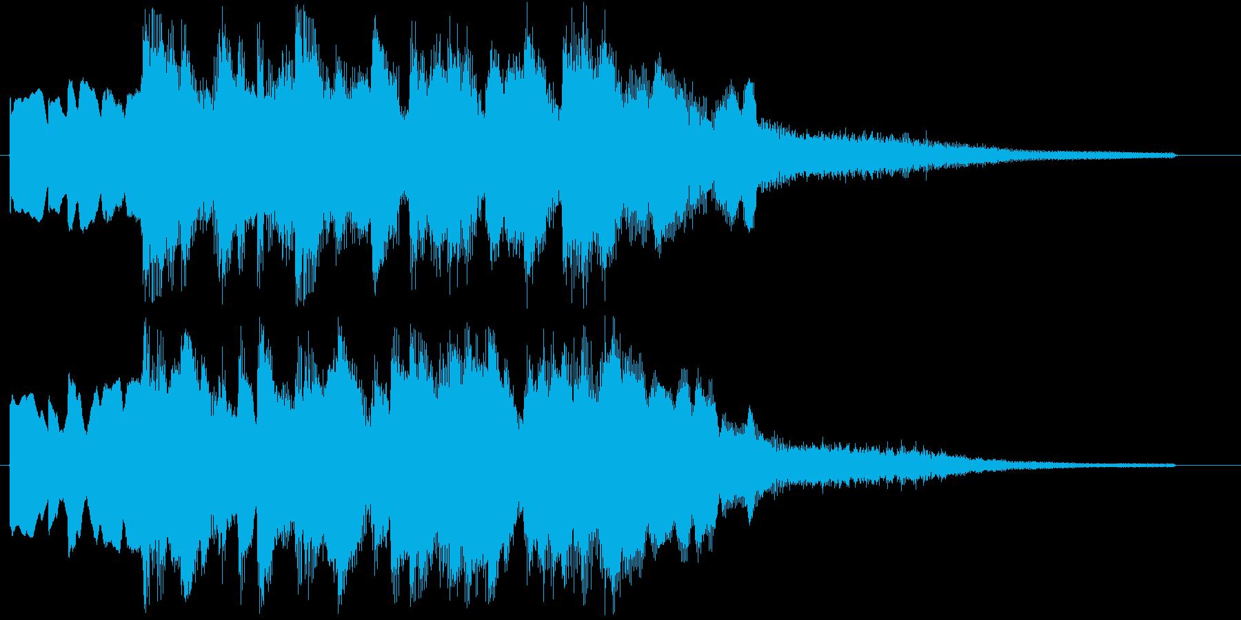 R&B風秋にピッタリな切ないバラード調の再生済みの波形