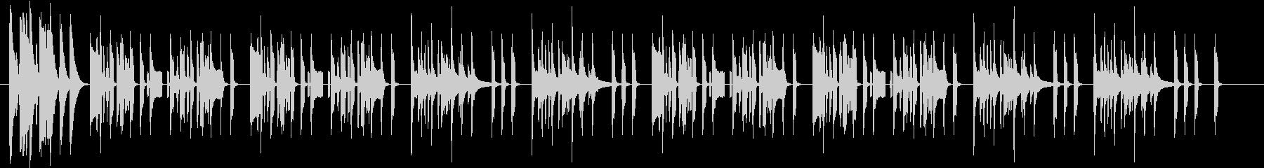 まぬけなリコーダーマーチの未再生の波形
