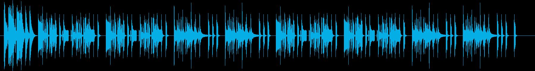 まぬけなリコーダーマーチの再生済みの波形