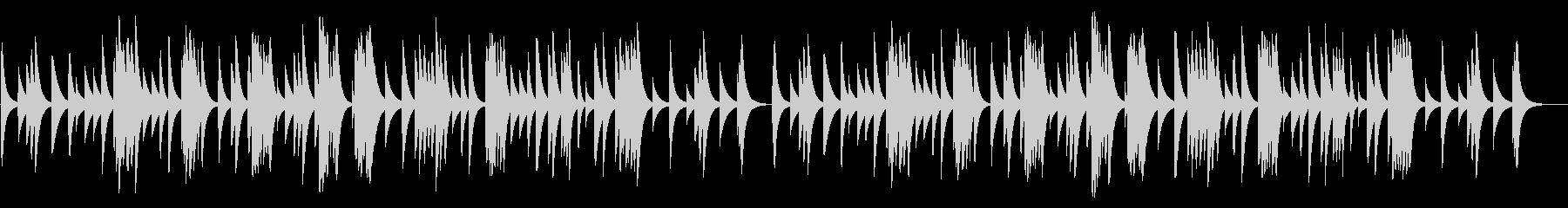 アヴェ・マリア(シューベルト) 18弁オの未再生の波形