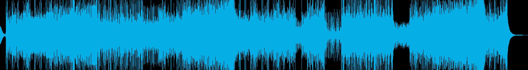 RPG・砂漠を想定した激しいテクノ 長尺の再生済みの波形