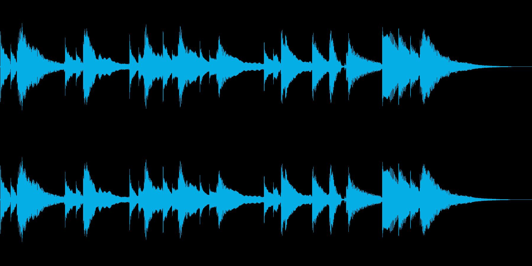 アコースティックギター:ラストポス...の再生済みの波形