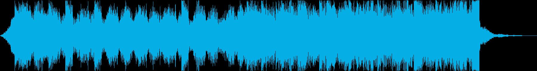 雄大壮大自然海夏EDMトロピカルハウスdの再生済みの波形