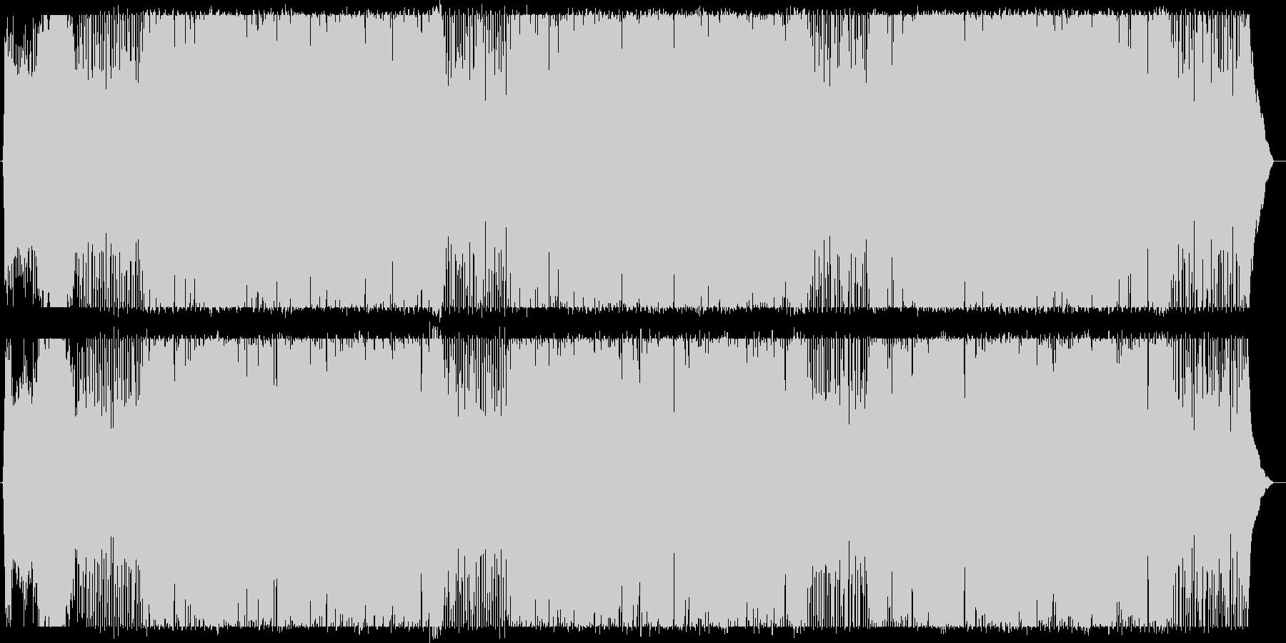 伸びやかでスケール感のあるポップスの未再生の波形