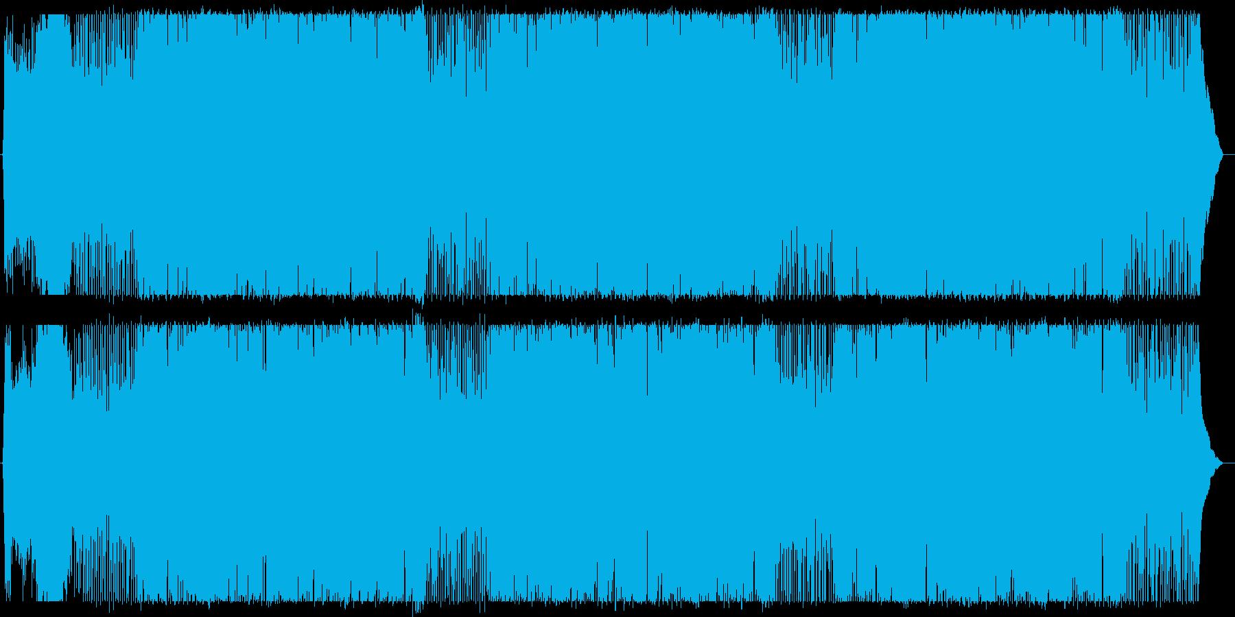 伸びやかでスケール感のあるポップスの再生済みの波形