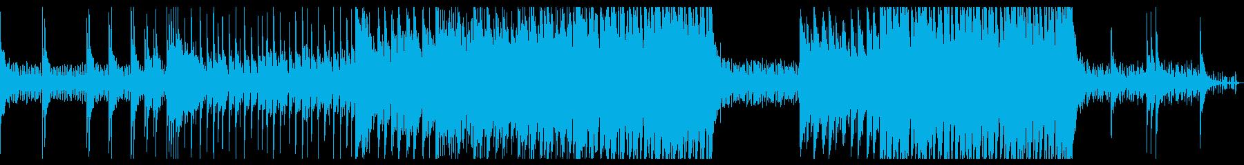 祭り太鼓〜太鼓合奏による躍動的で快活な曲の再生済みの波形