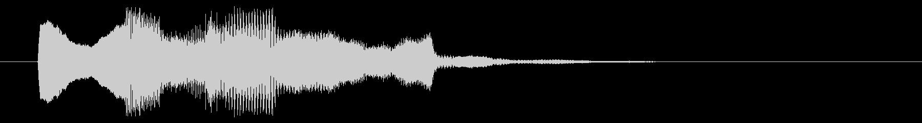 8ビット風システム音-03-1_dryの未再生の波形