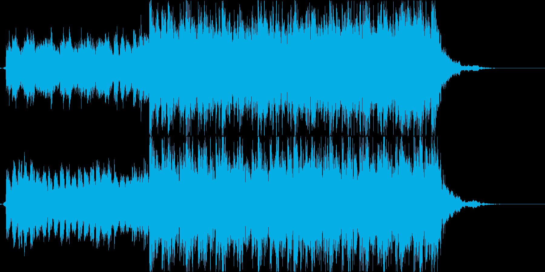 優しく始まり壮大に・ピアノ&オーケストラの再生済みの波形
