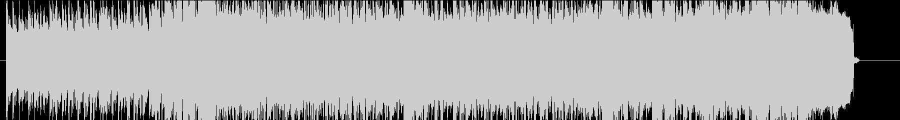 クールなロックサウンドのジングルの未再生の波形
