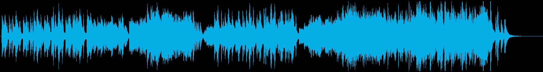 アニメ劇伴風ほのぼの日常BGMの再生済みの波形