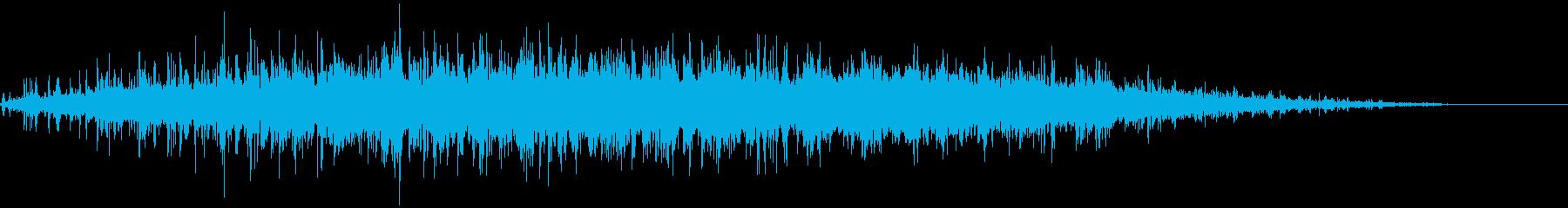 大勢の拍手 パチパチパチの再生済みの波形