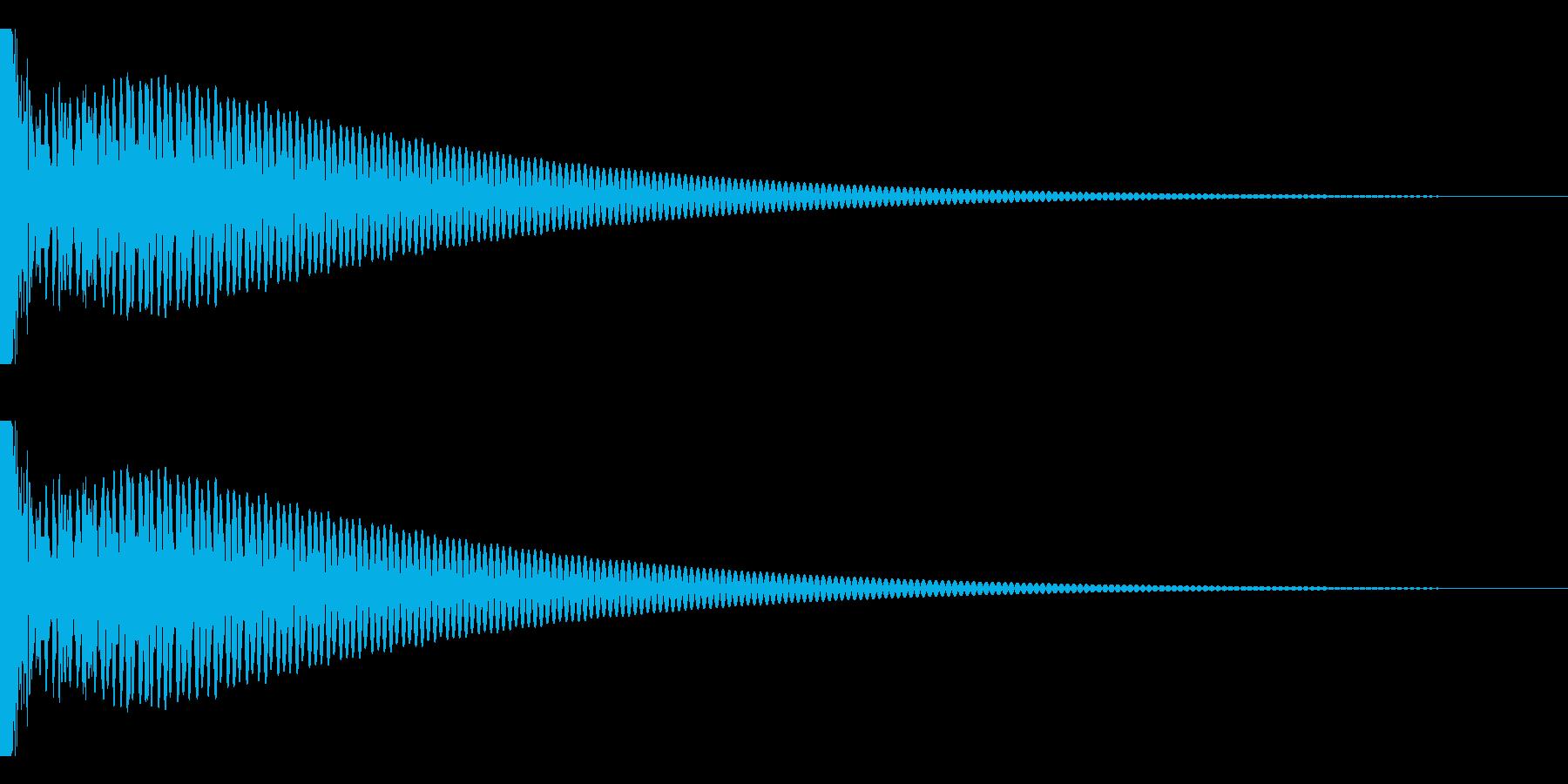 DTM Tom 21 オリジナル音源の再生済みの波形