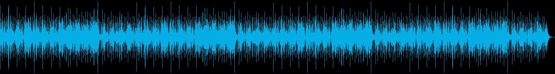 ボサノバ・おしゃれ・電子書籍・ラジオの再生済みの波形