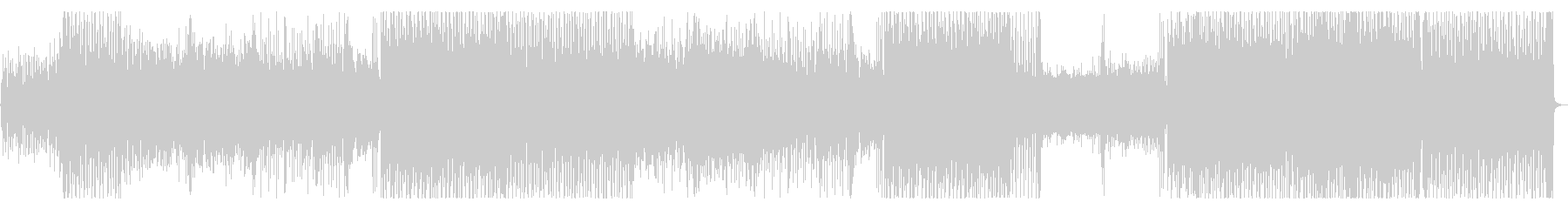 ピコピコ音が可愛いポップスの未再生の波形