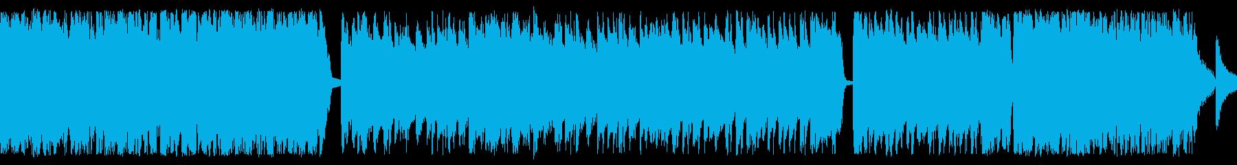 伝統のお祭りソーラン節 軽快な和風ループの再生済みの波形