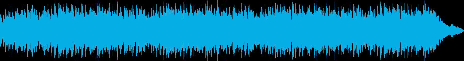 ファンタジックなシンセジングル_ロングの再生済みの波形