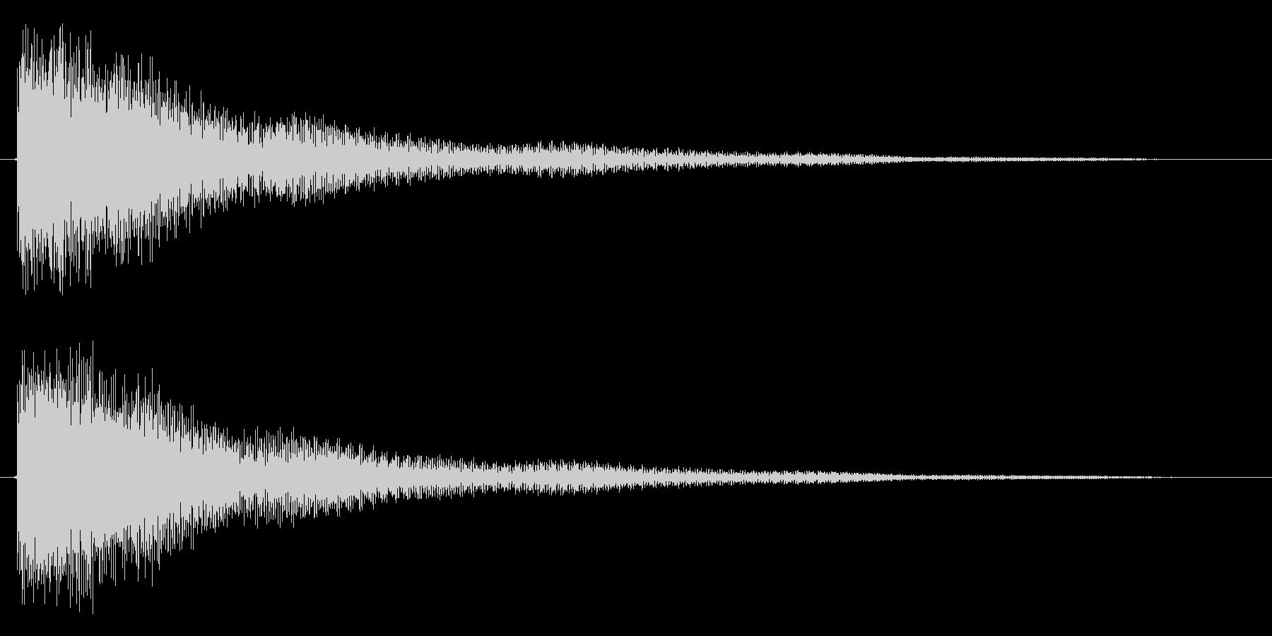 トゥイーン(鐘系)の未再生の波形