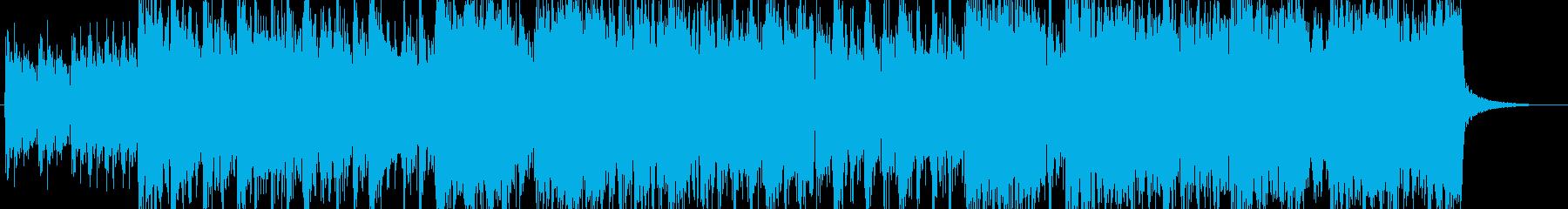 元気なサーフミュージックのんの再生済みの波形