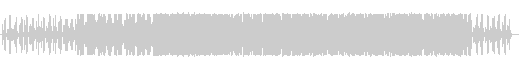 CMにオリエンタルなエレクトロ Mの未再生の波形