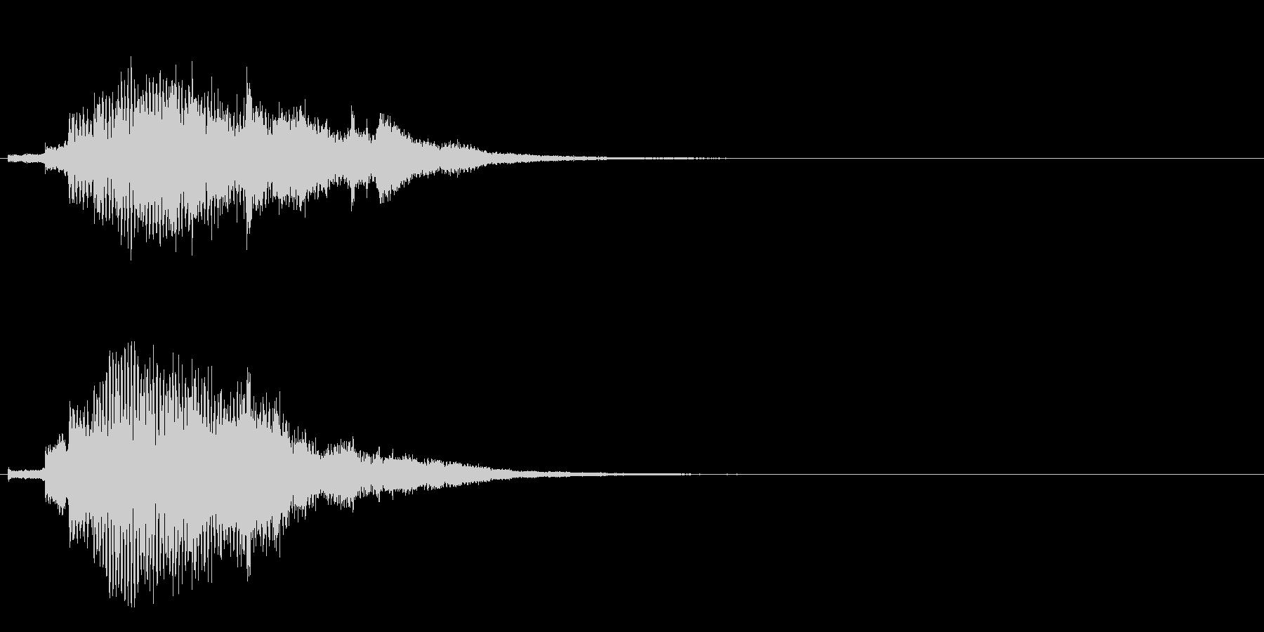 ハープ・上昇_10-3の未再生の波形