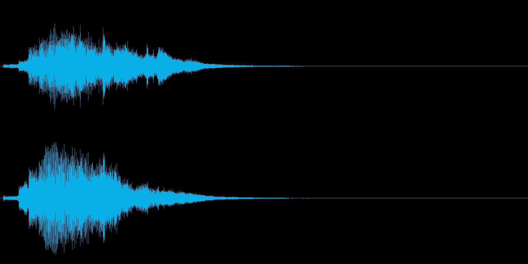 ハープ・上昇_10-3の再生済みの波形