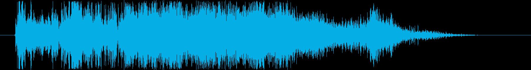 SCI FI 戦利品を集める01の再生済みの波形