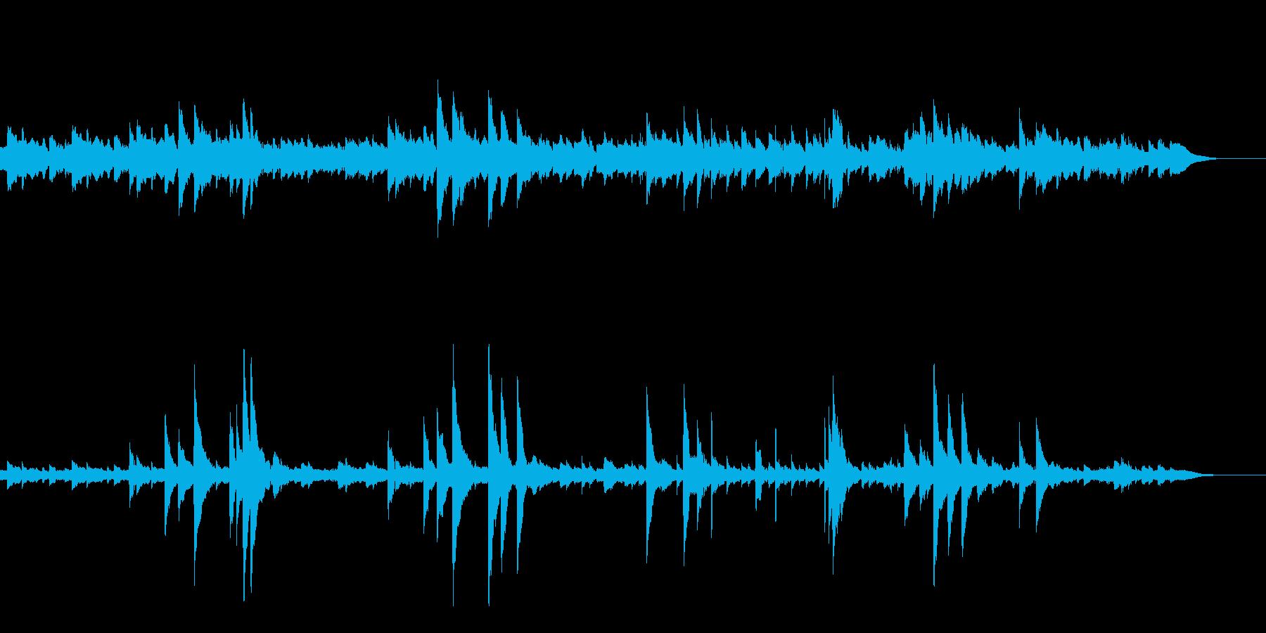 ゆらめくハープの音色・なぐさめのメロディの再生済みの波形