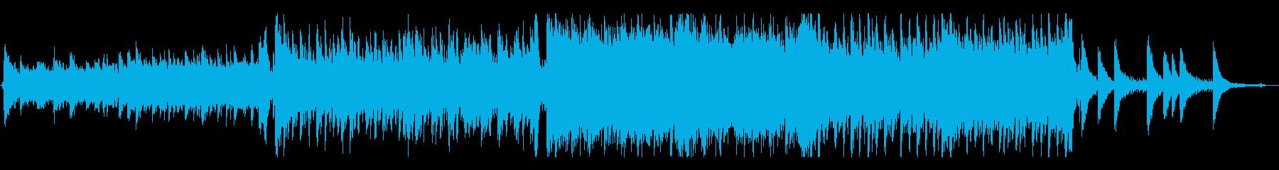 Epic/感動的でUpliftingな曲の再生済みの波形