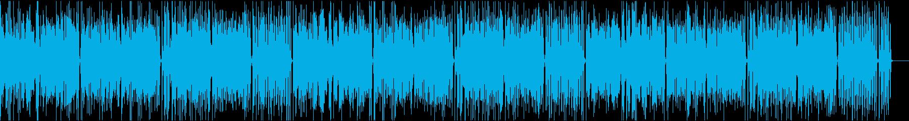 おしゃれイケイケ/静かめの再生済みの波形