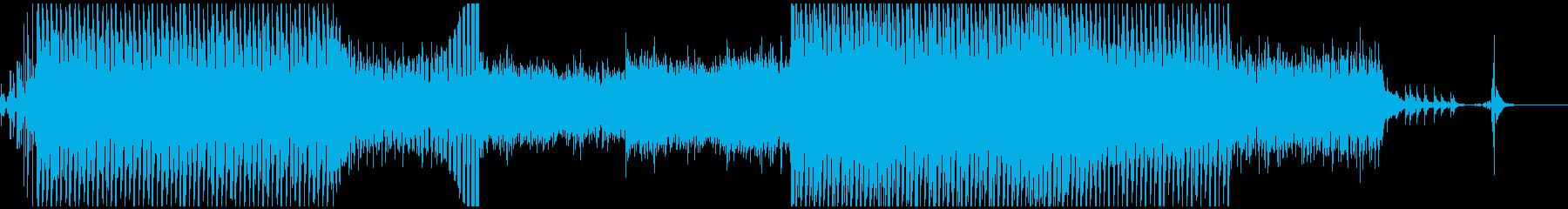 戦闘系トランスBGMの再生済みの波形