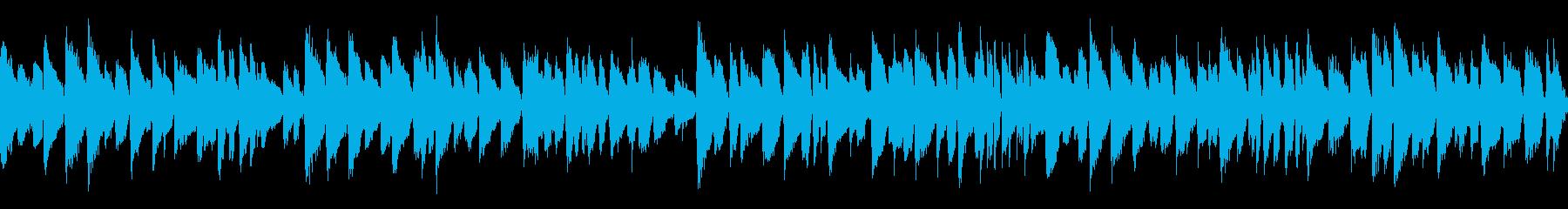 高級感あるジャズで名曲「夢路より」ループの再生済みの波形
