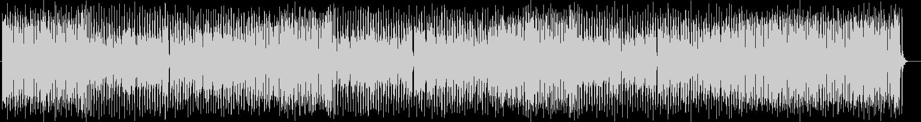 陽気なシンセサイザー・木管楽器サウンドの未再生の波形