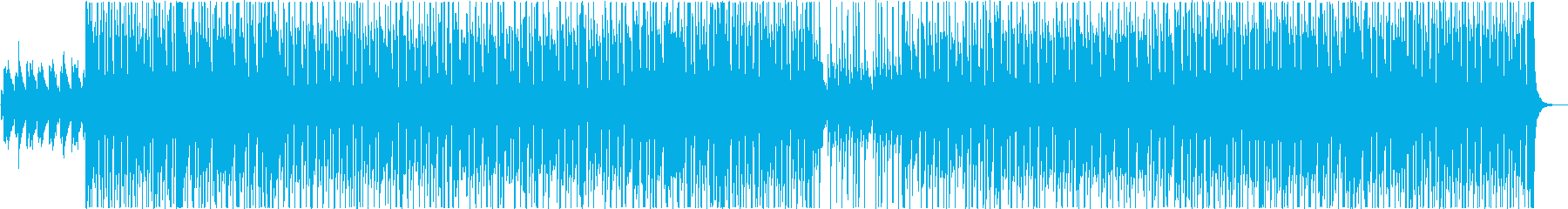 ハロウィン怪しげなヒップホップの再生済みの波形