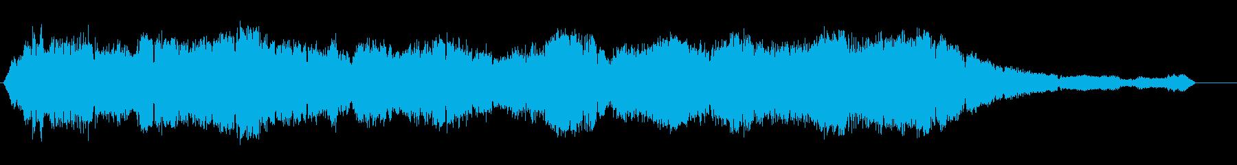 モーターサイクル-レース-エンジン...の再生済みの波形