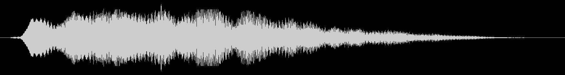 ダークプレースシンセスウェルまたは...の未再生の波形
