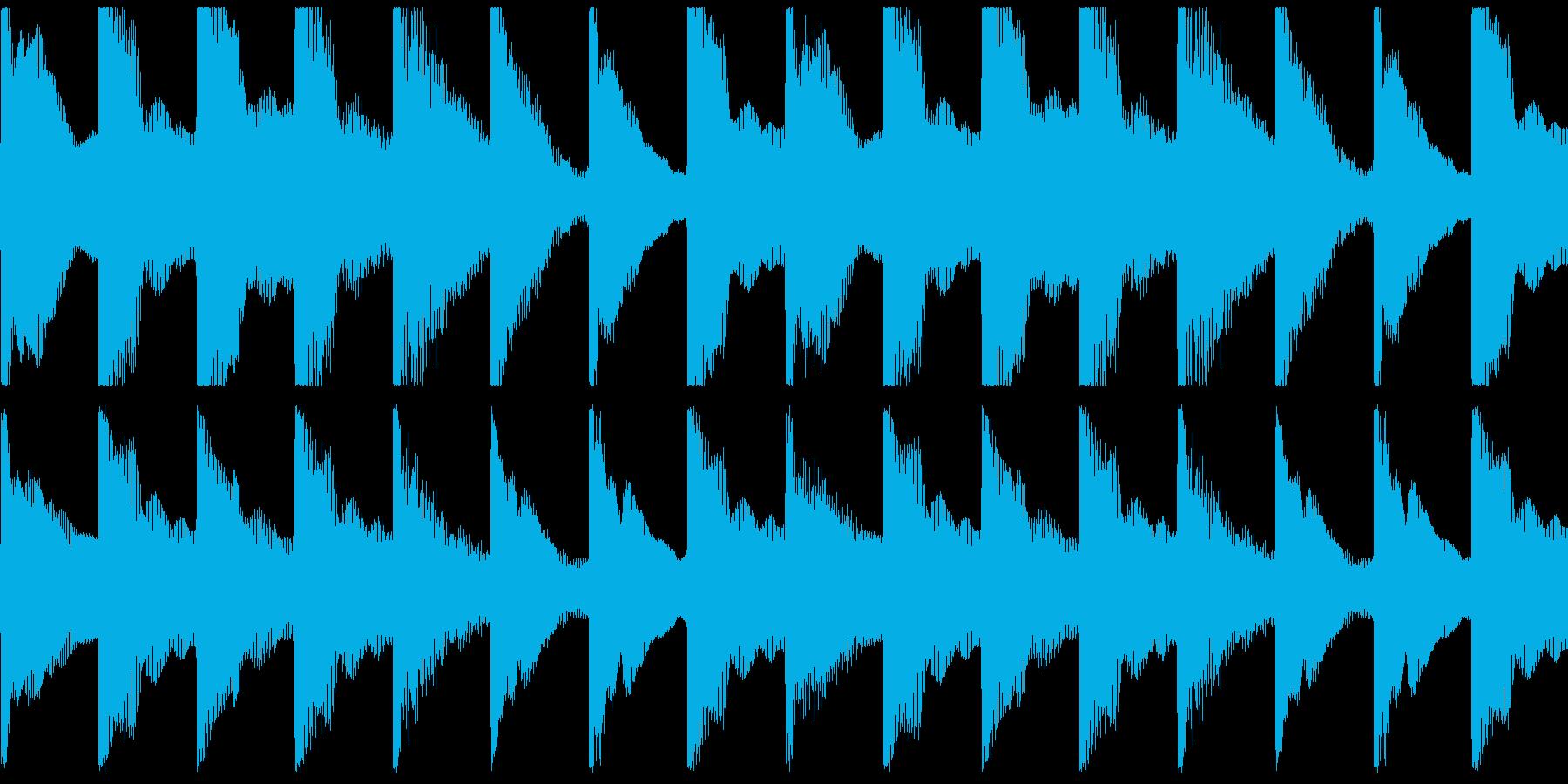 琴、日本の風景、和菓子、CM等ループ3の再生済みの波形