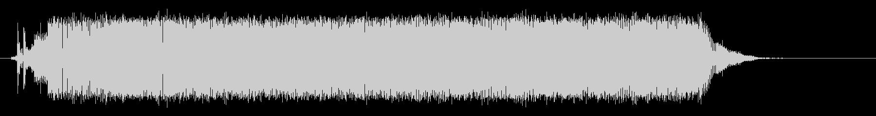 ノイズ スローコードライザー03の未再生の波形