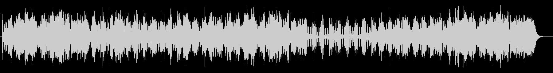 暖かみのあるピアノポップスの未再生の波形