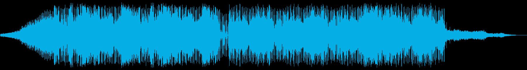 ビート主体のチル系の再生済みの波形