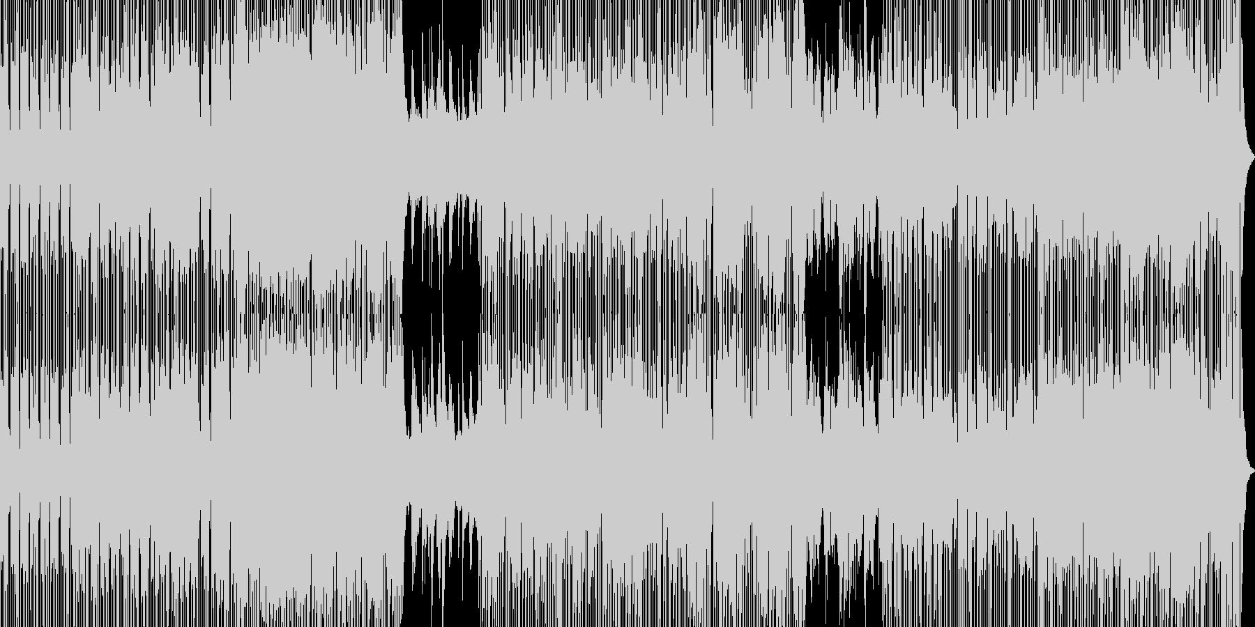 都会的イメージBGMの未再生の波形