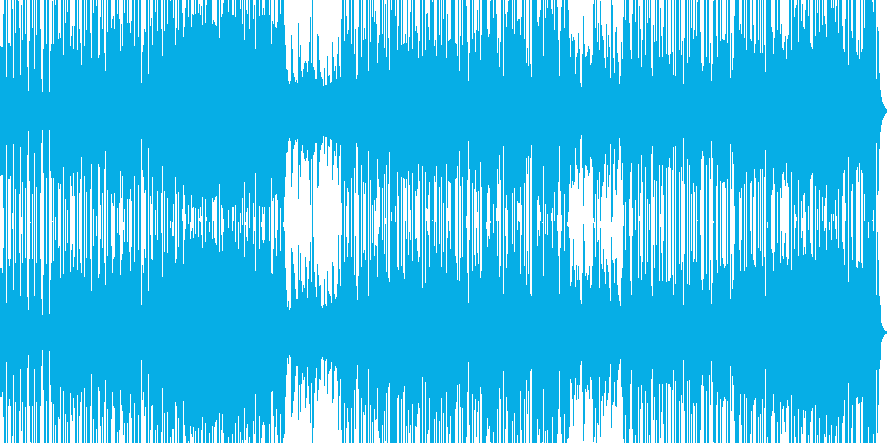 都会的イメージBGMの再生済みの波形