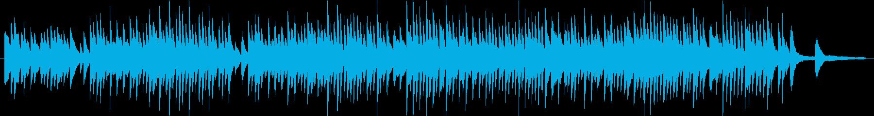 一日の始まりをイメージしたピアノソロの再生済みの波形