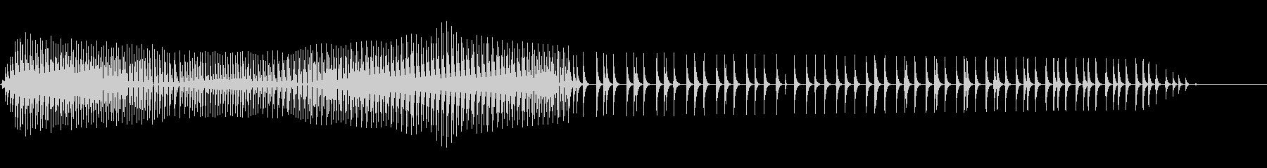 ピボ(不正解/攻撃/ファミコン/ノイズの未再生の波形