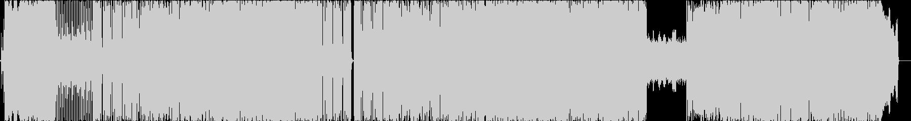 ピアノイントロが爽やかなロックBGMの未再生の波形